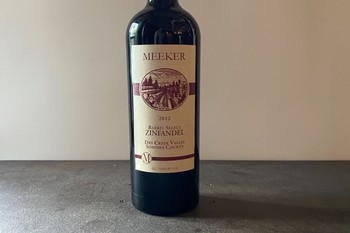2012 Meeker Barrel Select Zinfandel Dry Creek Valley