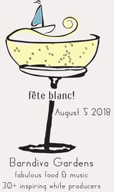 Sunday August 5th           Fête du vin Blanc