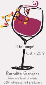 Sunday October 7th Fête Rouge